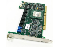 Raid контроллер DELL D9872 AAR-2610SA/64MB 3XSIL3512/INTEL GC80303 64MB 6XSATA RAID50 PCI-X