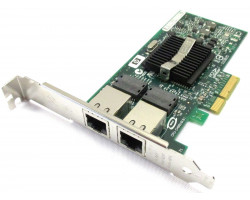 Сетевая карта HP 412651-001 NC360T PCI-E Dual Port GBE Low Bracket 412646-001