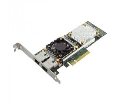 Сетевая карта Dell Broadcom 57810 Dual Port 10Gb Base-T Full Height Network Adapter - Kit (540-BBGU)