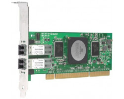 Контроллер QLA2462 QLogic 4-Gbps Dual Port Fibre Channel (FC) to PCI-X 2.0 266-MHz Host Bus Adapter (HBA)