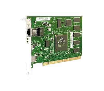 Контроллер QLA4010 QLogic 1-Gbps Optical 64-bit 133MHz PCI-X iSCSI Host Bus Adapter (HBA)