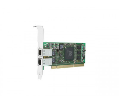 Контроллер Qlogic QLA4052C 1Gb Dual Port iSCSI HBA  133MHz PCI-X  RJ-45 copper